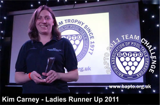 Ladies Runners Up 2011