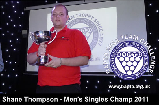 Mens Singles 2011 Winners
