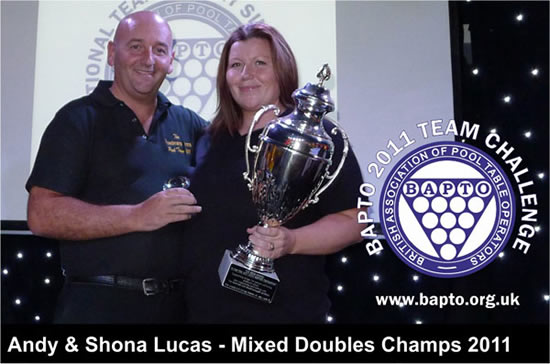 Mixed Doubles 2011 Winners
