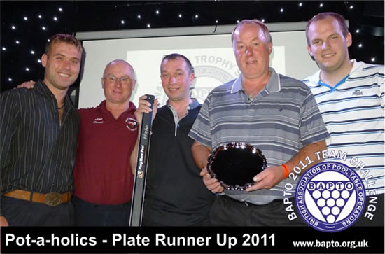Team Runners Up 2011