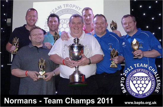 Team 2011 Winners